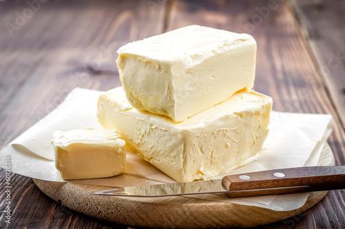 Foto op Canvas Zuivelproducten Butter