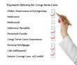 Payment Options for Long-term care