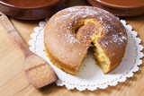 traditional sponge cake recipe, food and confectionery