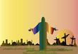 Obrazy na płótnie, fototapety, zdjęcia, fotoobrazy drukowane : Resurrection  Christ  Easter