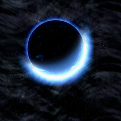 eclipse of planet. cosmos sky backgrounds