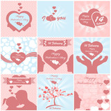VALENTINE'S  DAY BACKGROUND MEGA COLLECTION
