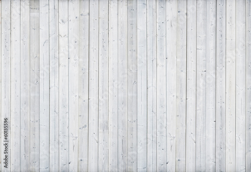 Foto op Canvas Hout white wood wall