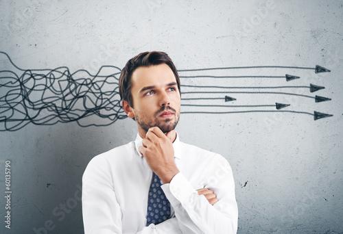 Thinking man - 60135790