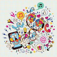 Fun mobile phone