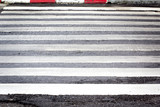 Zebra pedestrian crossing