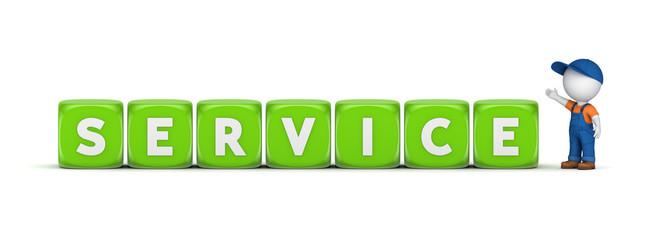 Service concept.