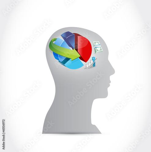 business on my mind illustration design