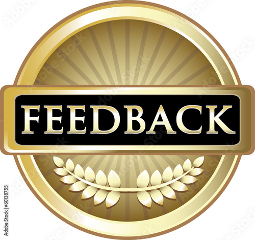 Feedback Gold Vintage Label
