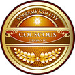 Couscous Vintage Label