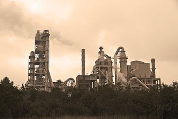 fabrica de cemento