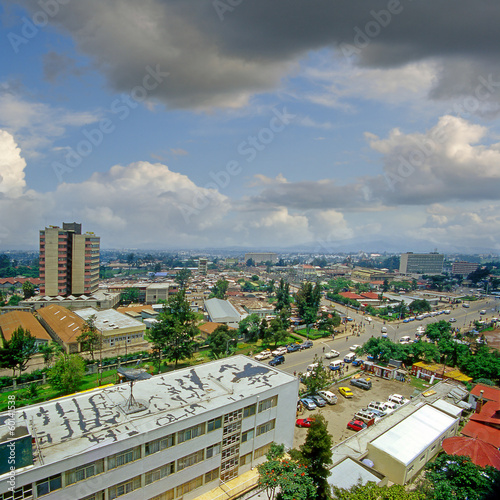 A street in Addis Ababa, capital of Ethiopia - 60141538