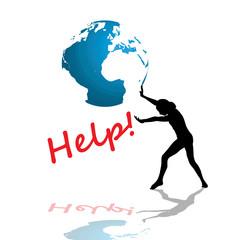 Symbol of people needing help!