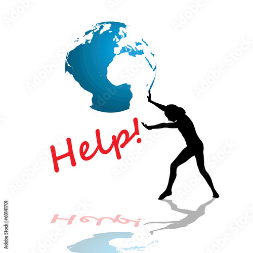 Symbol of people needing help!