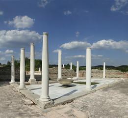 Gamzigrad-Romuliana is a Late Roman palace, Serbia. UNESCO WH