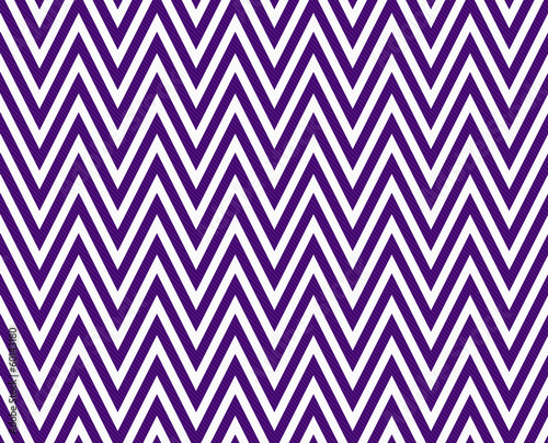 Thin Dark Purple and White Horizontal Chevron Striped Textured F