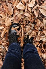 sonbaharda yürüyüş