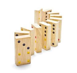 Standing domino tiles