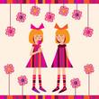 little girls with a Lollipop