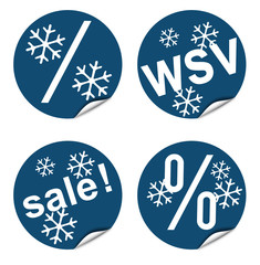WSV Stickersortiment in Trendfarbe