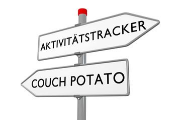 Aktivitätstracker / Couch Potato