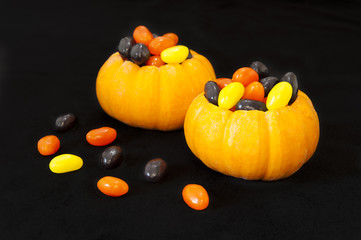 Jellybean filled pumpkins