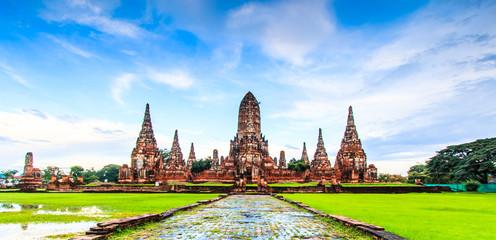 Wat Chaiwatthanaram in Ayutthaya province of Thailand