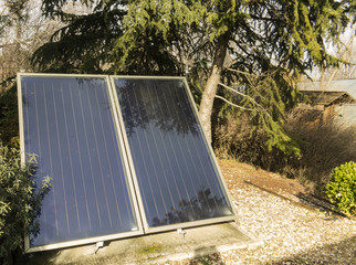 Sun thermal collectors