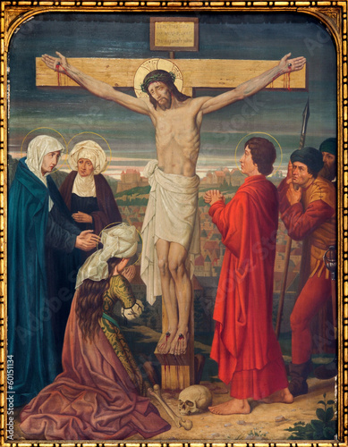 Antwerp - Crucifixion as part the Cross way cycle - 60151134