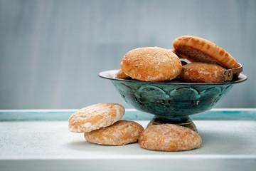 Honey vanilla cookies
