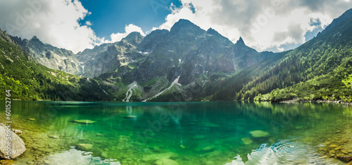 View of a lake in the mountains|60152764