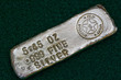 Stamped Silver Bullion Bar - Poured Ingot - 60155562