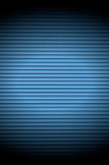 Blue Roller Shutter Background with Spotlight