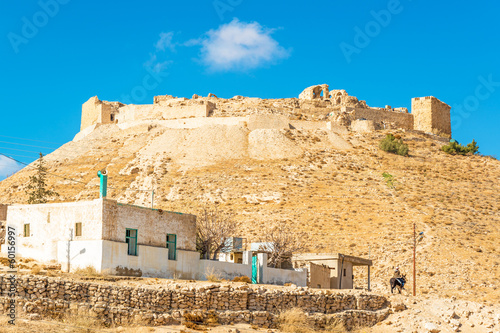 The Shoubak crusader castle fortress in Ma'an, Jordan