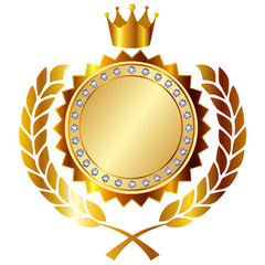メダル 王冠 ローレル