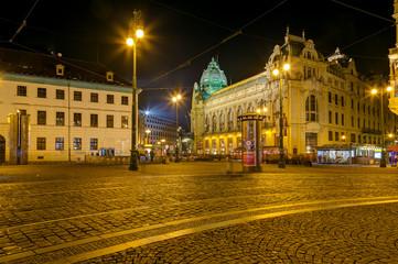 Republic Square (Namesti Republiky), Prague, Czech Republic
