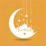 Vintage Ramadan Kareem background