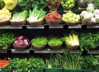 verdura al mercato