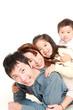 日本人四人家族