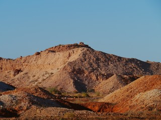 Opal mines in Coober Pedy in the outback