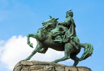 Monument of Ukrainian Hetman Bogdan Khmelnitsky