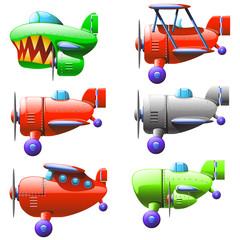 set planes