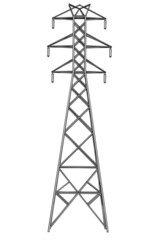 cartoon image of electric lines