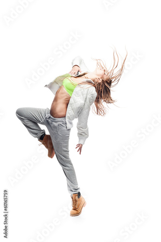 hip-hop woman dancing