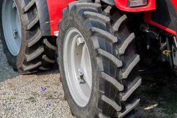 ruota di trattore