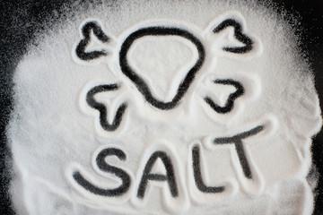Salt and skull