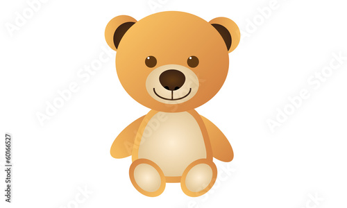 Orange Teddy Bear