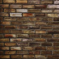 alte Ziegelmauer.