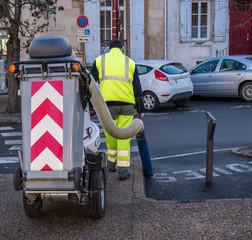 Nettoyage trottoirs