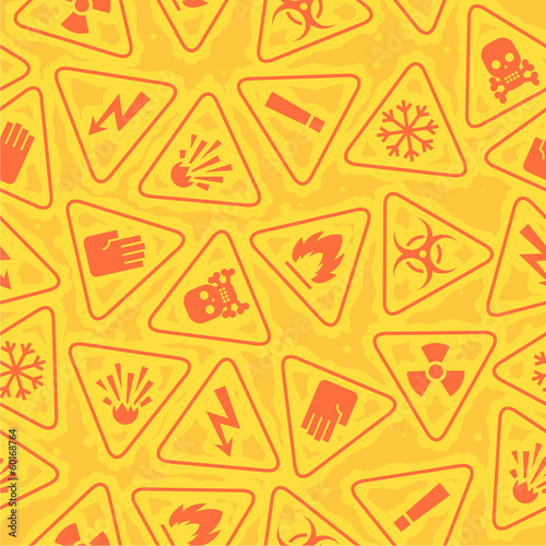 Pattern warning signs of danger